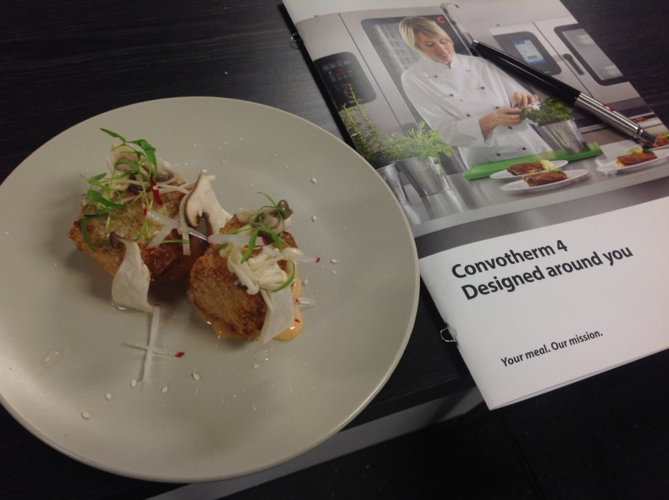 Crispy Roast Pork Belly cooked to perfection in the Convotherm 4